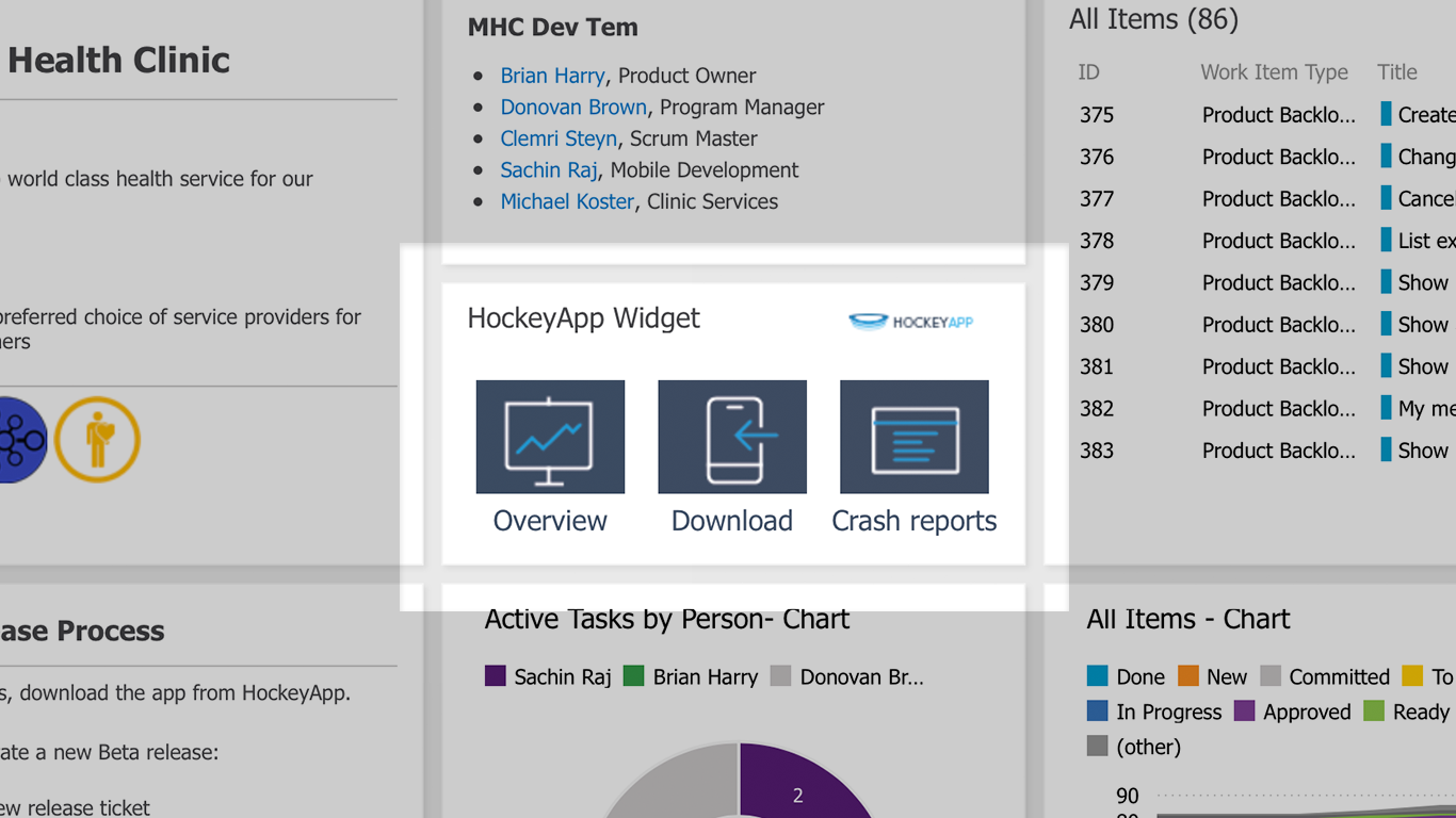 Image of HockeyApp Service endpoint